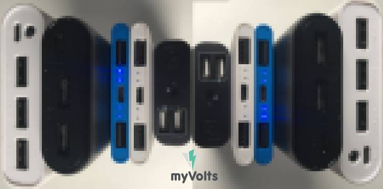 myVolts power bank - low current draw