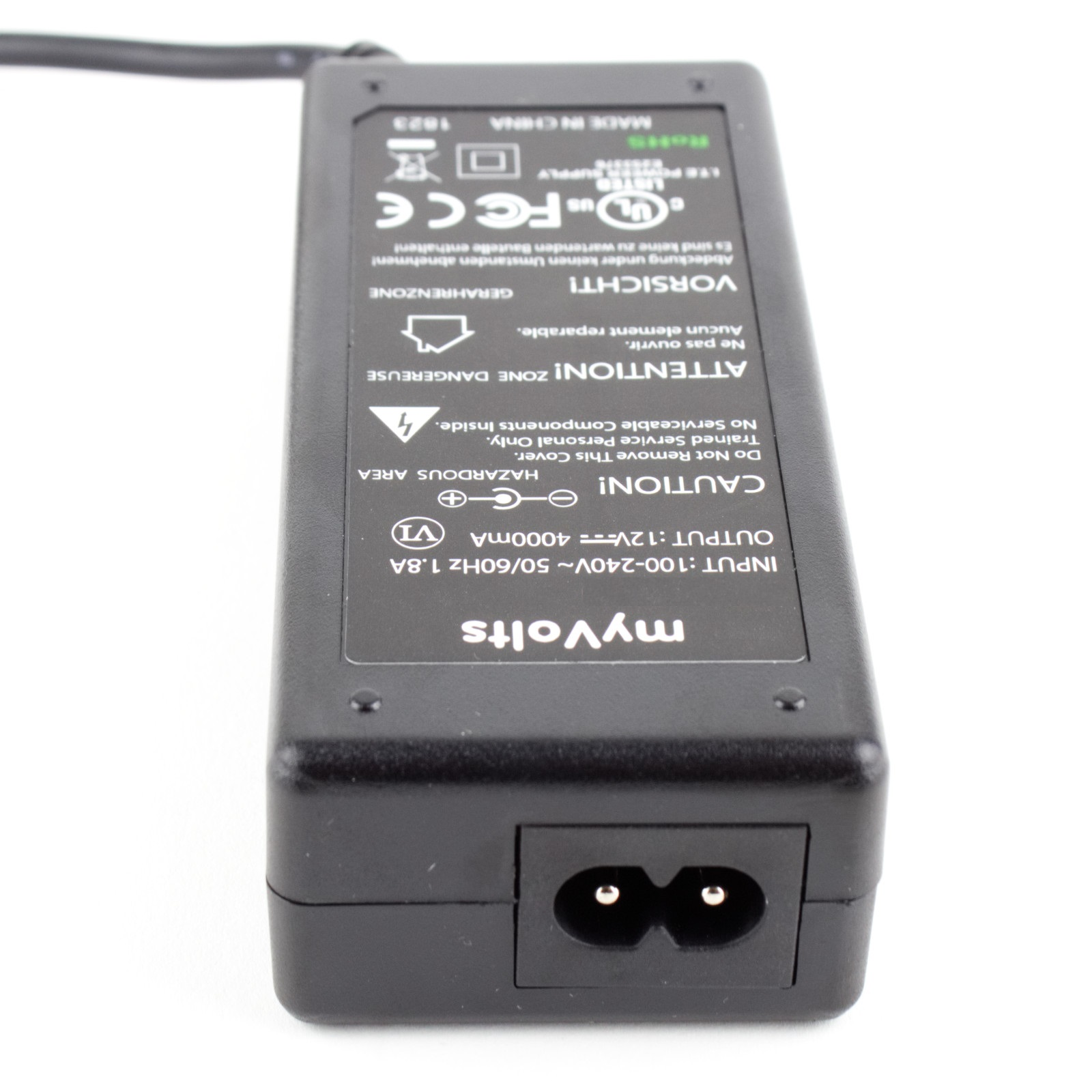 US Plug MyVolts 12V Power Supply Adaptor Compatible with Western Digital WD10000D033-01 External Hard Drive